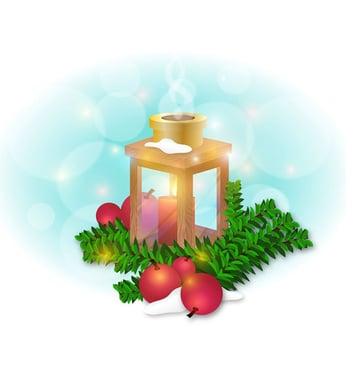 Winter Lantern created by Abdullah Hill Muhaimin