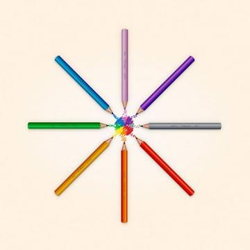 Alejandro Artiles Castellanos vector pencil set