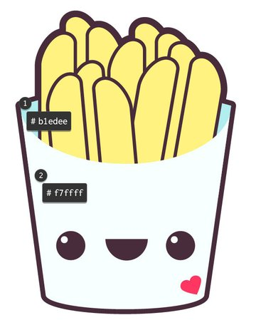 Add color to your French fries