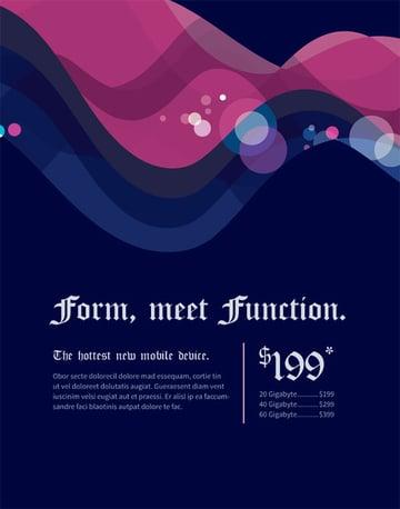 Jarod Billingslea shared his version of a print-ready advertisement
