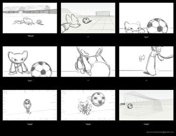 Storyboard created in Louie Del Carmens CDA class by Jason Dwyer