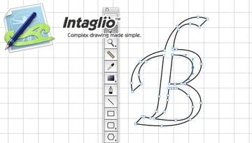 Intaglio drawing program