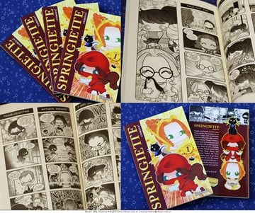 Comic books from M Victoria Robados portfolio