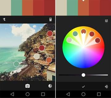Adobe Color interface