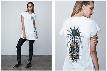 Mekas t-shirt design for PRIDE clothing