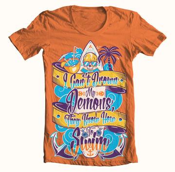 T-shirt design by Pellisco