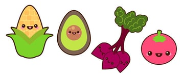 Heres a look at our vegetable designs so far