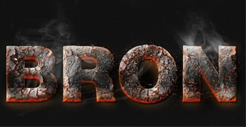 Ineta Grigaityte shared their own version of a magma hot text effect from a tutorial by Gianluca Giacoppo