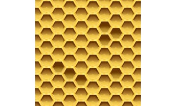 User Krpenko Y commented with their result from a sweet honeycomb pattern tutorial by Mary Winkler