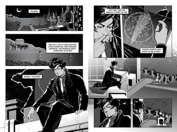 A page from Kaylas comic Midwinter
