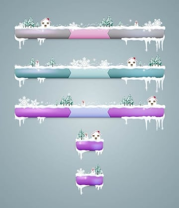 User Teng shared their fantastic version of winter-inspired menu bars from a tutorial by Diana Toma