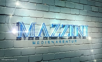 User CrazyJo shared their take on a glowing 3D text effect tutorial by Rose