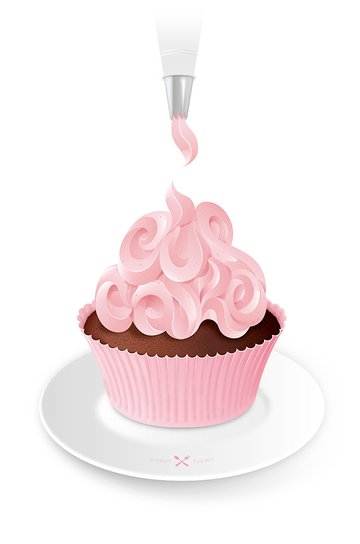 Cupcake Lettering
