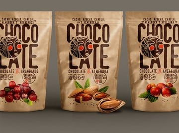CHOCOLATE Brand packaging by Nacho Huizar