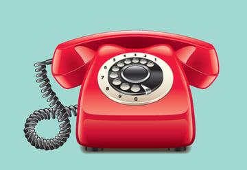 Retro Red Phone