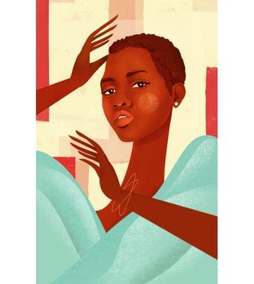 Lupita Nyongo by Bee Johnson