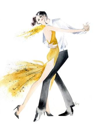 Happy Dancer by Irina Kaygorodova