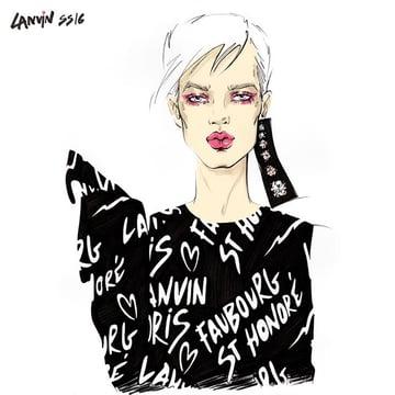 Fashion Report LANVIN SS 2016 ready-to-wear Paris by Ir Ma