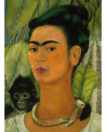 Self Portrait with a Monkey