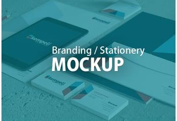 Branding Stationery Mock-ups