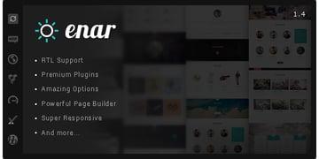 Enar - Responsive Multi-Purpose WordPress Theme