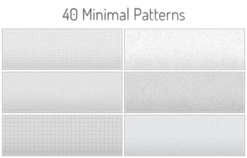 Tileable Minimal Patterns