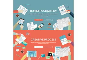 Flat Concepts for Business and Creative Process