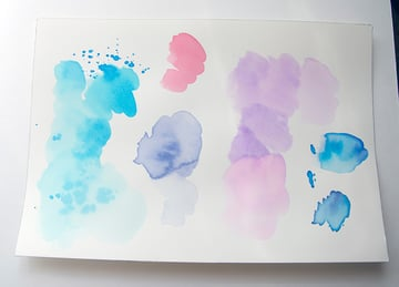 Create as many pages of watercolor textures as you want