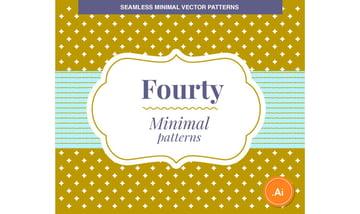 40 Minimal Vector Patterns