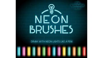 Neon Brushes
