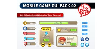 Mobile Game GUI Pack 02