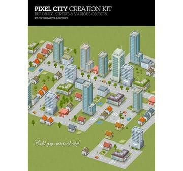 Pixel City Creation Kit