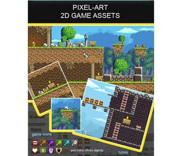 2d Pixel Art Game Assets