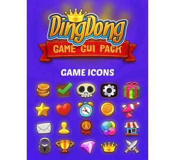 DingDong Game GUI Pack