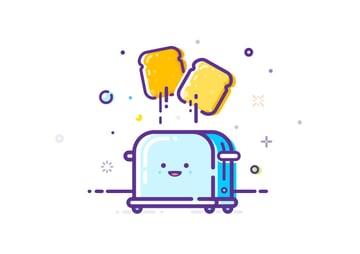Happy Toaster