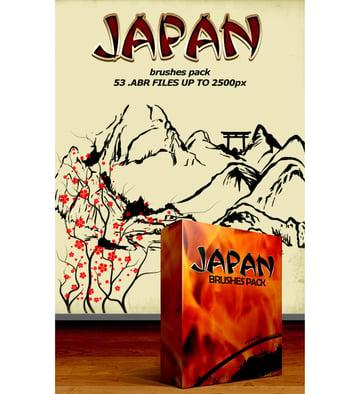 Japan Brushes Pack