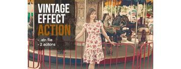 Vintage Photoshop Action Pack