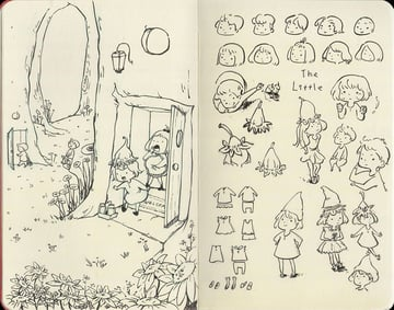 Hatsus Moleskine Doodles 1