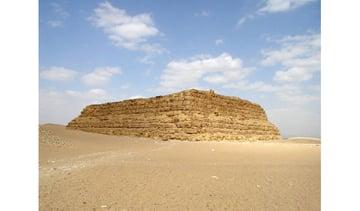 Mastaba example Image by Jon Bodsworth
