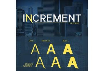 Increment Font