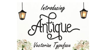 Antique Typeface