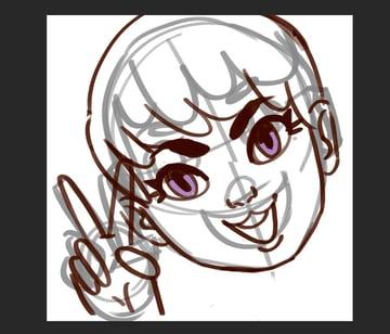 Make My Own Twitch Emote Tutorial Tighten up that sketch