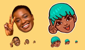 Finished Twitch chat emotes