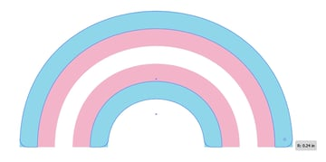 Round out the corners of your rainbow!