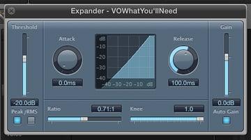 Final Cut Pro X Expander