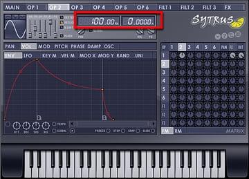 Setting the Modulator to 100 Hz