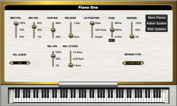 Piano one VSTi