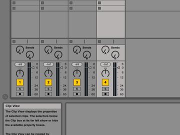 Mixing settings