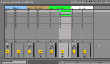 Ableton Mixing Session