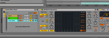 Third Effect Rack in Ableton